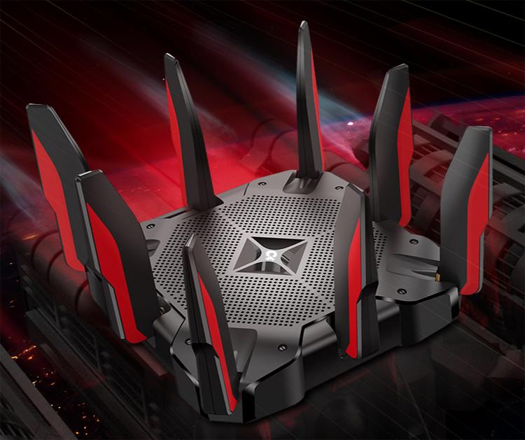 Скоростной игровой роутер TP-Link Archer AX11000 обладает поддержкой Wi-Fi 6