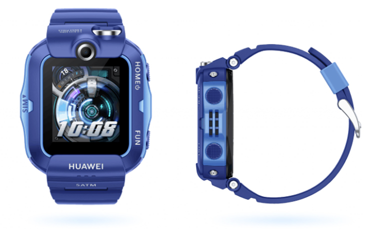 Детские смарт-часы Huawei Children Watch 4X с двумя камерами поддерживают связь 4G