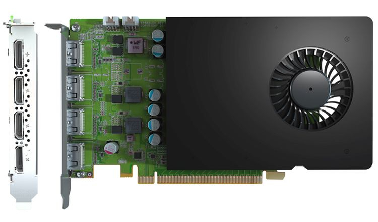 Matrox начала поставки видеокарты D1450 на графическом процессоре NVIDIA