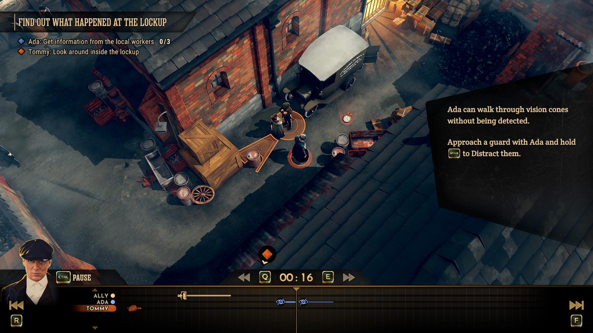 Видео: прохождение первой миссии в Peaky Blinders: Mastermind — приключенческой игре по «Острым козырькам»