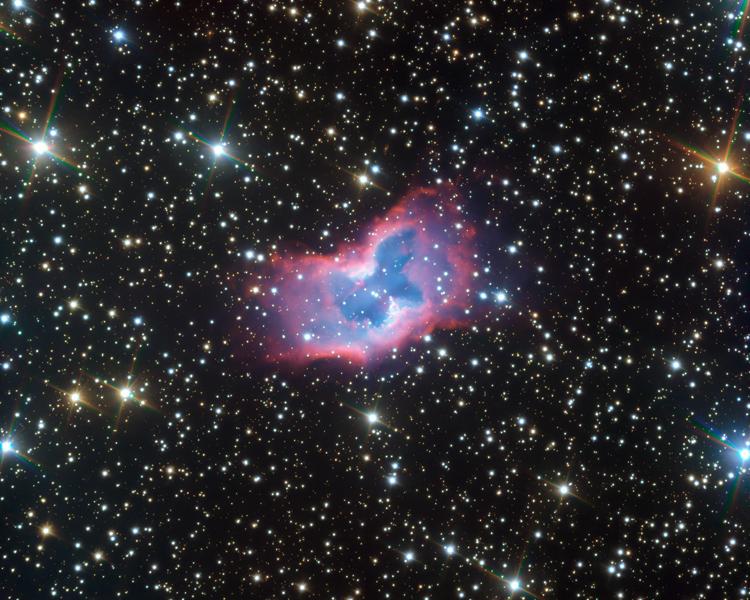 Фото дня: космический мотылёк удивительной красоты
