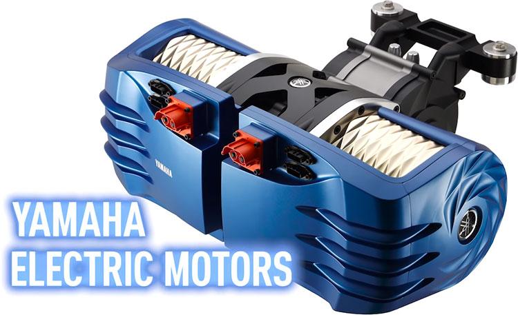 Yamaha показала сверхкомпактные моторы для электрических мотоциклов и автомобилей