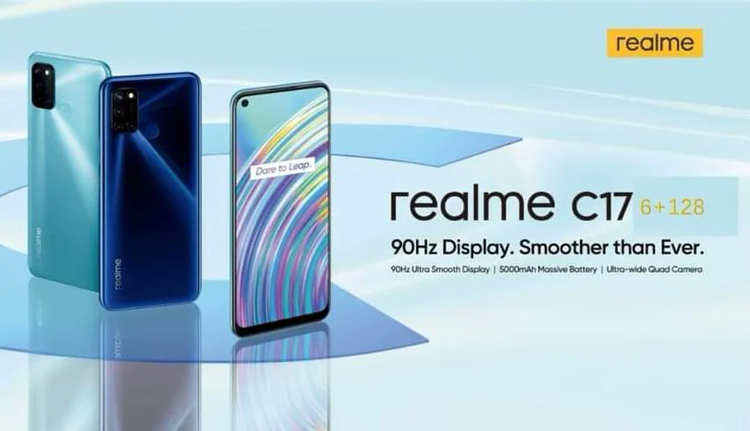 Через неделю Realme представит бюджетный смартфон C17 с 90-Гц экраном и Narzo 20 с технологией Dart Charging