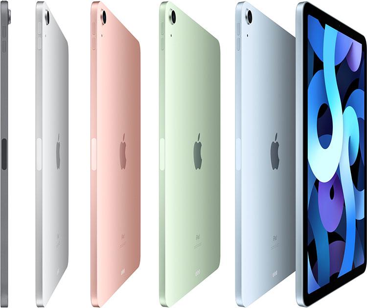 Apple представила iPad Air 4 с дизайном iPad Pro и более мощным процессором — новейшим 5-нм Apple A14