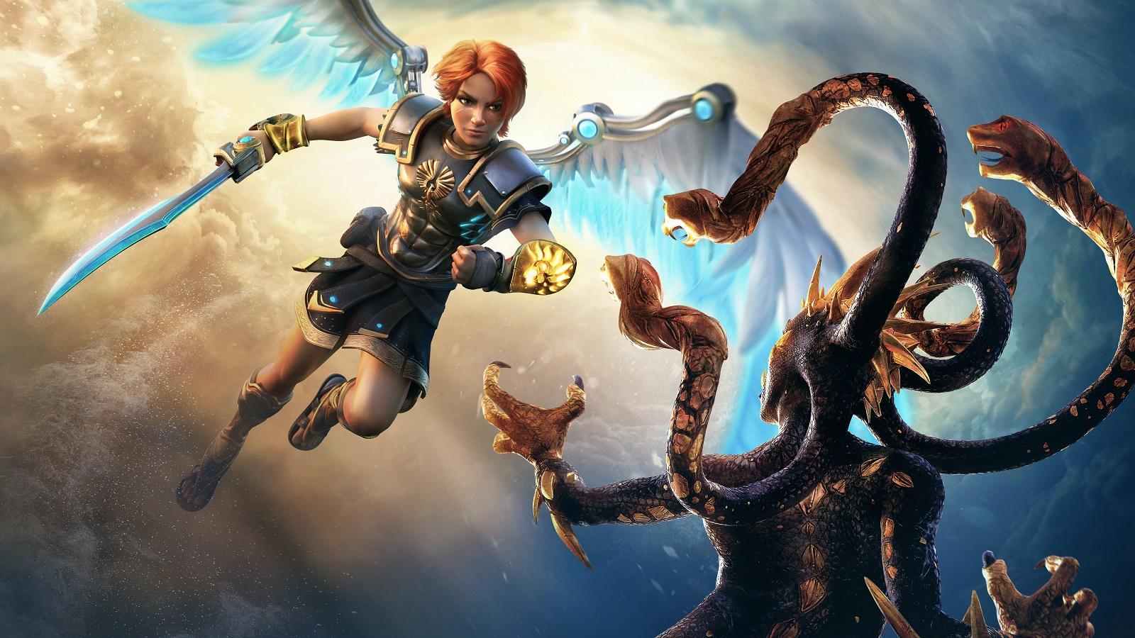 Идея Immortals Fenyx Rising родилась из бага с циклопами в Assassin's Creed Odyssey