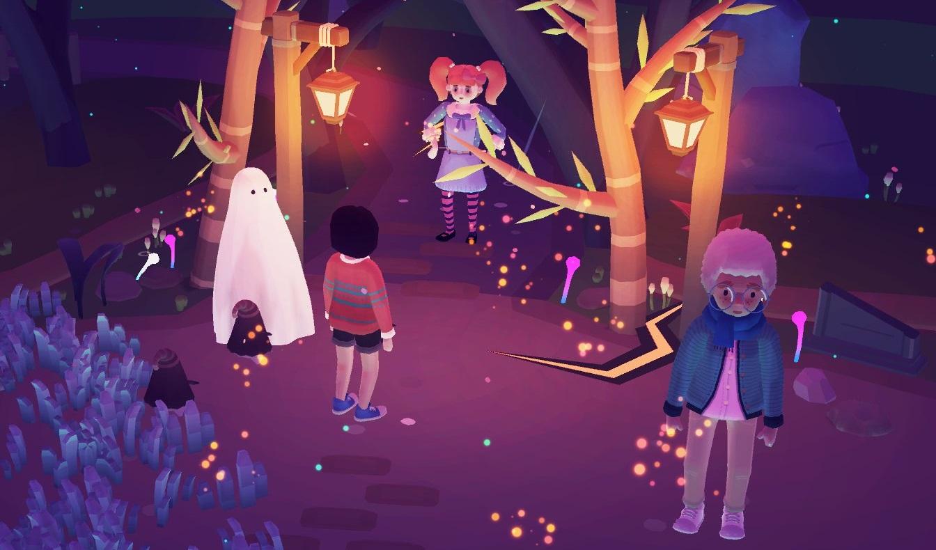Ooblets до конца месяца получит хэллоуинское обновление — разработчики показали первые кадры