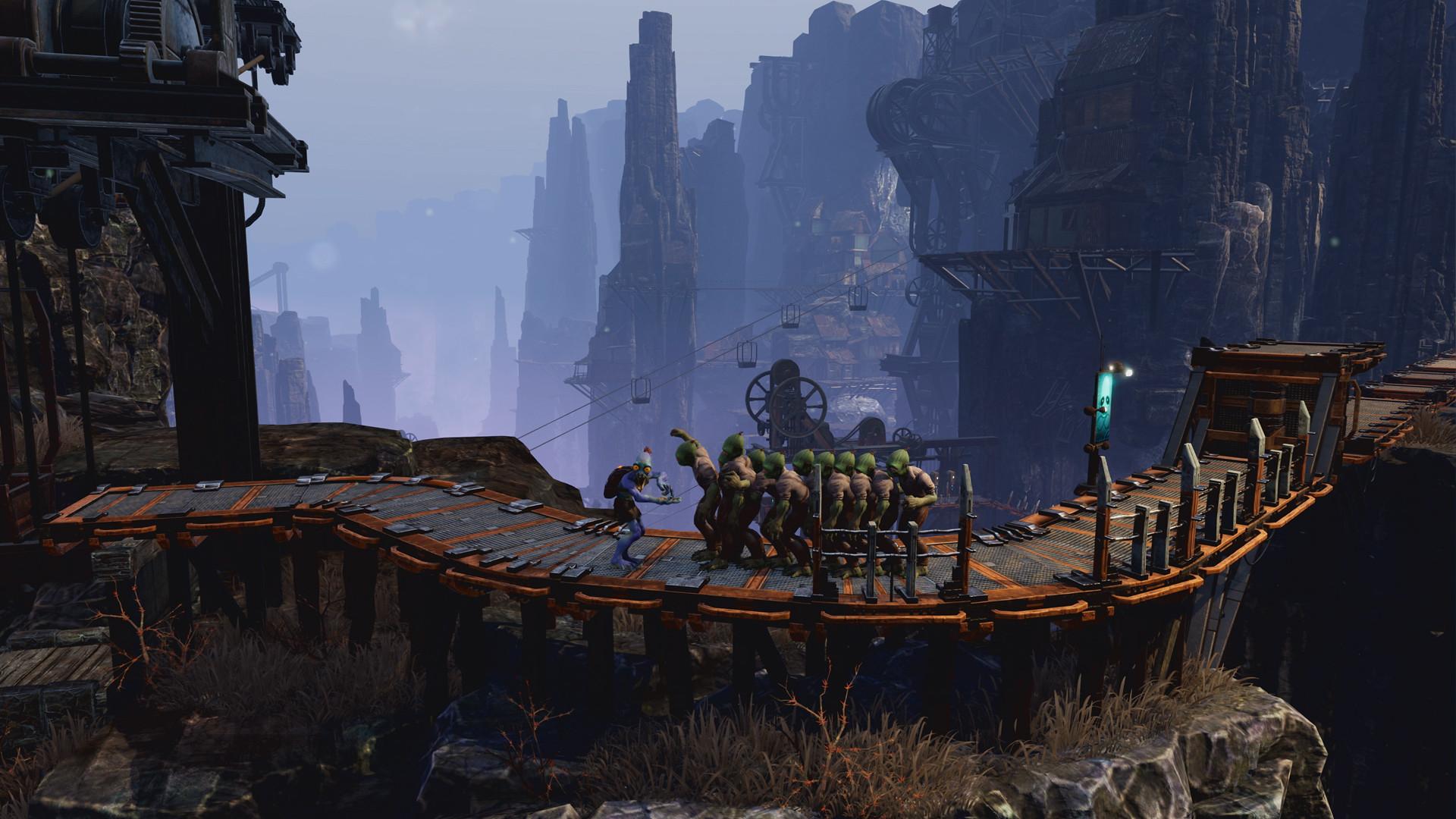 Возвращение Моллука и первый взгляд на версию для PS5 в новом трейлере платформера Oddworld: Soulstorm