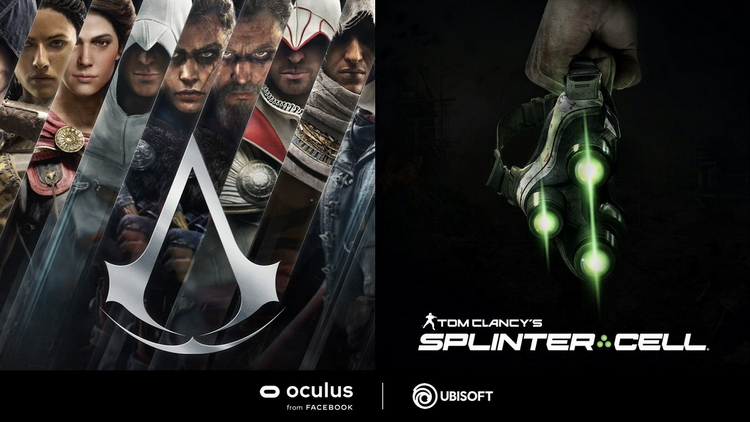 Ubisoft анонсировала новые Tom Clancys Splinter Cell и Assassins Creed, но для Oculus