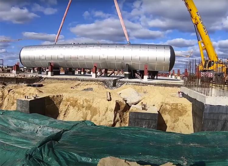 На Восточном начался монтаж оборудования для стартового комплекса «Ангары»