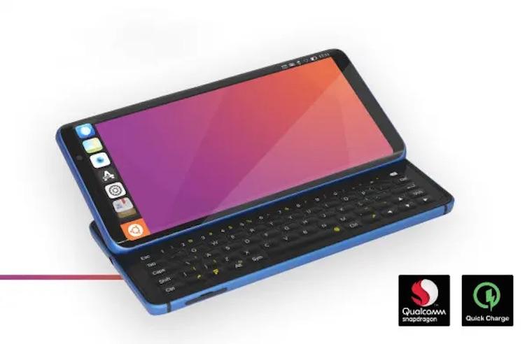 Смартфон F(x)tec Pro1 X оснащён выдвижной физической клавиатурой и работает на LineageOS или Ubuntu