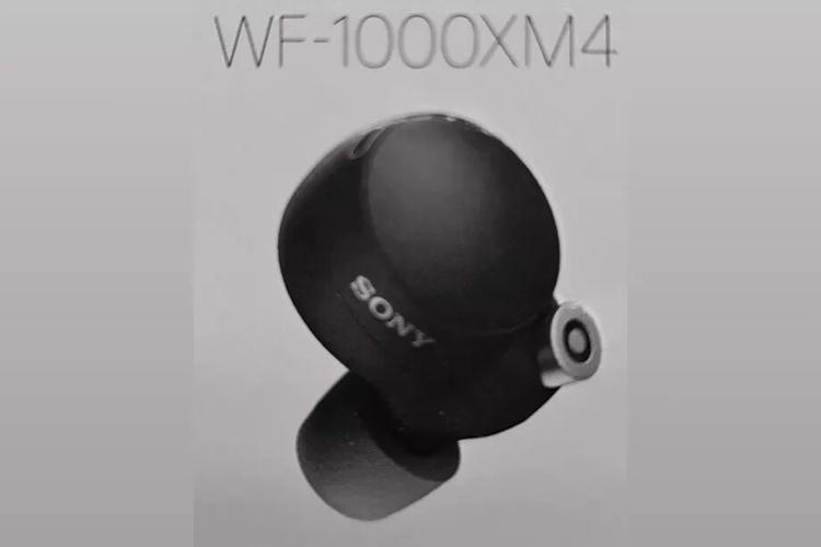 Sony готовит TWS-наушники WF-1000XM4 с новым дизайном, следует из шпионского фото