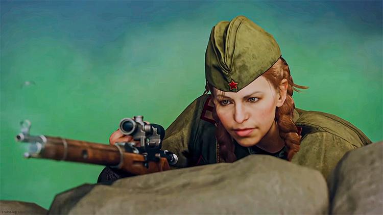 В победных роликах Call of Duty: Warzone появилась девушка-снайпер из грядущей Vanguard