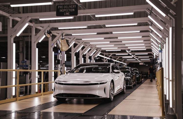 Lucid Motors запустила серийное производство электрических седанов Air