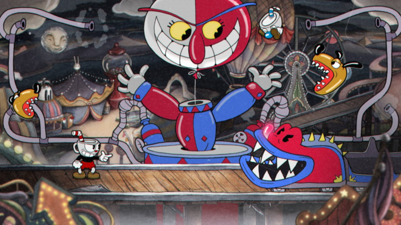 Cuphead вышел на PlayStation 4