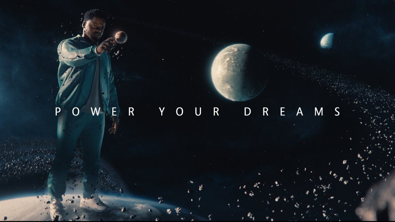 Microsoft запустила рекламную кампанию Power Your Dreams для Xbox Series X