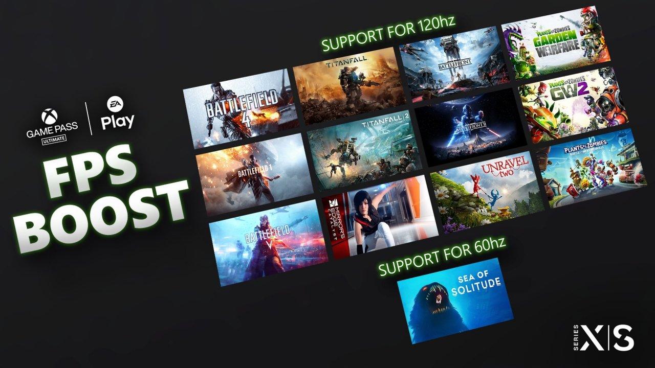 Функция FPS Boost стала доступна для 13 игр от EA на консолях Xbox Series X|S