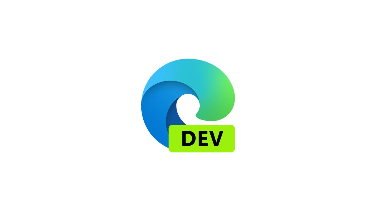 Выпущена сборка Microsoft Edge Dev 90.0.803.0