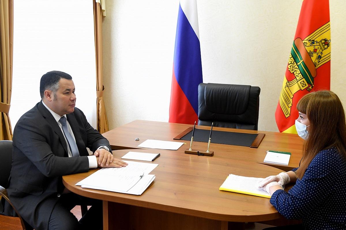 Жительница Тверской области попросила губернатора помочь с ремонтом кровли