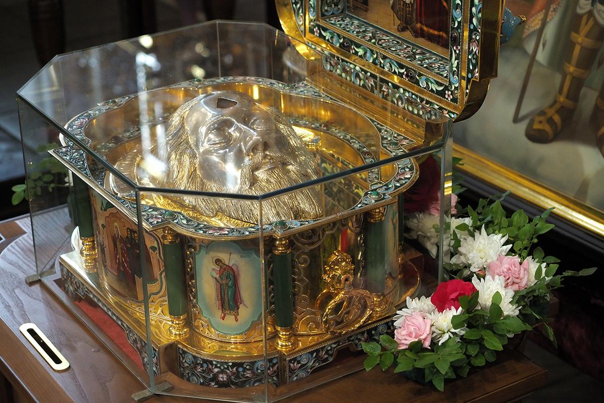 В Тверскую область прибудет ковчег с мощами Александра Невского