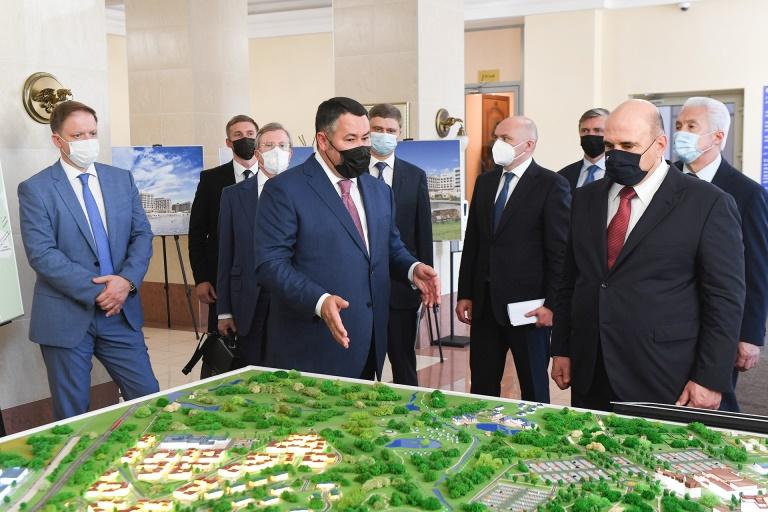 Премьер-министр РФ заявил о поддержке проектов ОЭЗ «Завидово», которые ему представил губернатор Тверской области