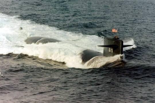 После столкновения с подводной лодкой «Кострома» американская лодка «Батон Руж» восстановлению не подлежала