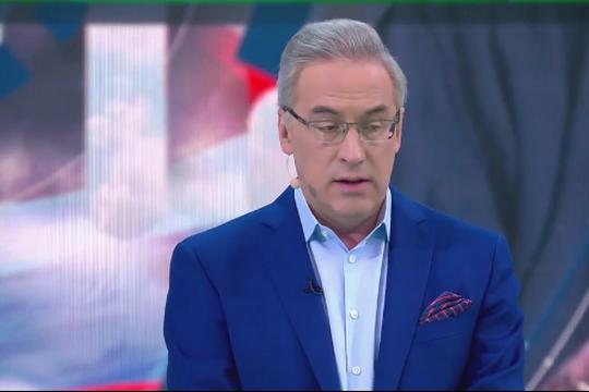 Норкин в эфире НТВ рассмешил зрителей анекдотом про Бузову и Моргенштерна