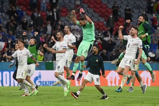 Определилась первая пара полуфиналистов Евро-2020 – сборные Италии и Испании