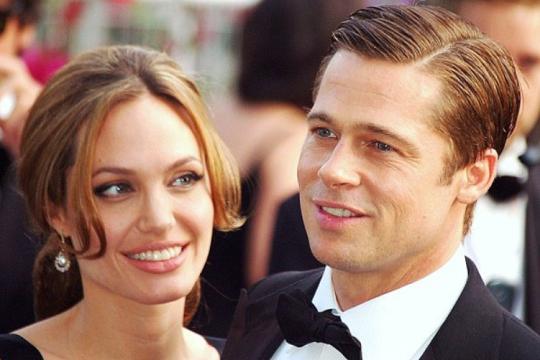 Брэд Питт помирился с Анджелиной Джоли