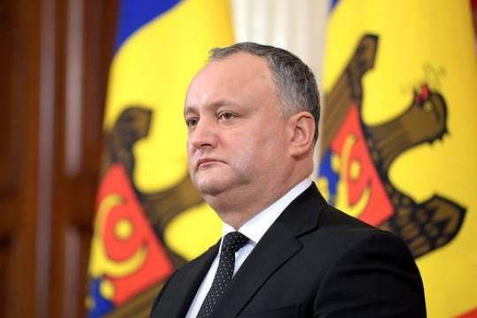 Додон изменил статус русского языка в Молдавии