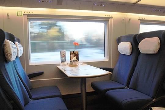 Из Москвы в Петербург на поезде: время в пути сократится на 1,5 часа