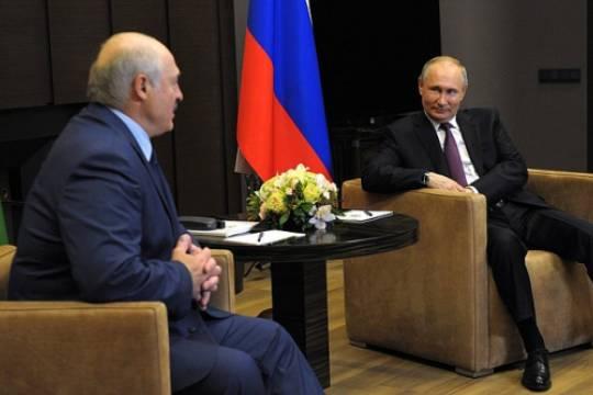 Путин и Лукашенко пришли к договоренности по кредитам и рейсам «Белавиа»