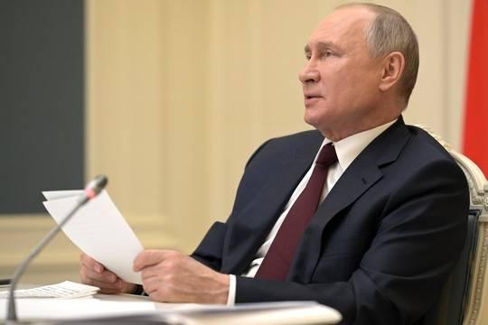 Путин пообещал «выбить зубы» пытающимся «укусить» Россию