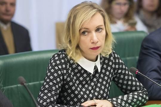 Россия оказалась в центре «пандемии фейков» - Мария Захарова