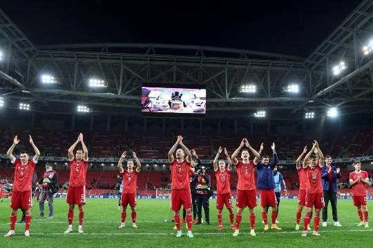 Сборная России под руководством Карпина не порадовала яркой игрой, но взяла семь очков в рамках отбора на ЧМ-2022