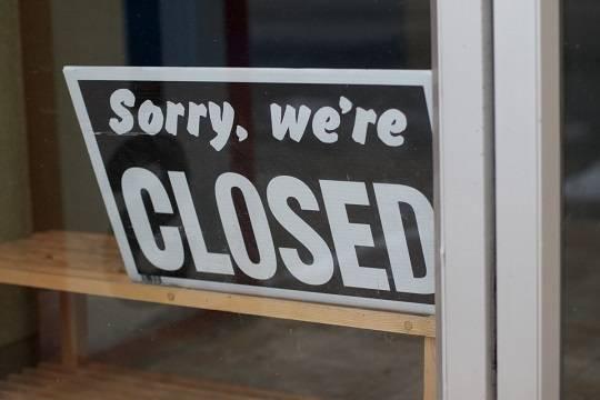 В России с начала года закрылись 724 тысячи компаний