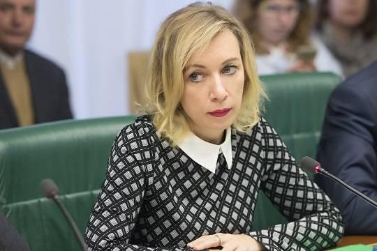 Захарова назвала спектаклем ситуацию вокруг задержания россиян в Белоруссии