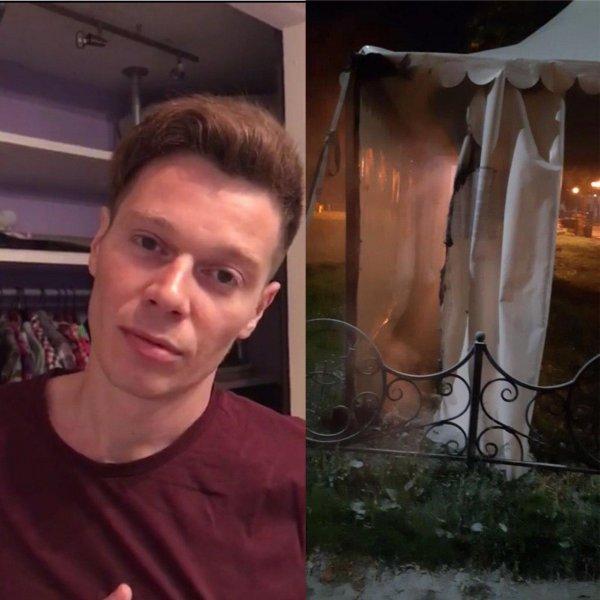 В Подольске сторонник Навального устроил пожог участка для голосования