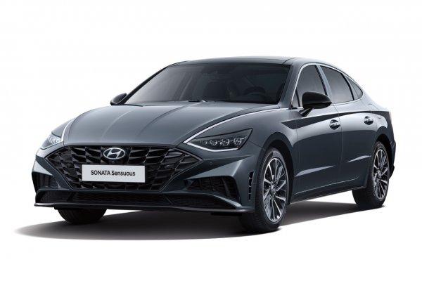 Hyundai Sonata 2021 получит новую спецверсию Sensuous