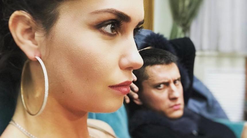 «Было страшно»: очевидцы описали начало ссоры Муцениеце с Прилучным