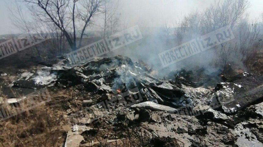 Видео с места крушения самолета-амфибии в Хабаровском крае