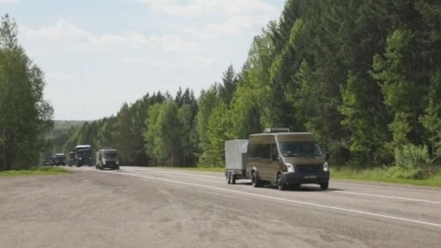 Сводный отряд Минобороны прибыл для борьбы с коронавирусом в Красноярский край