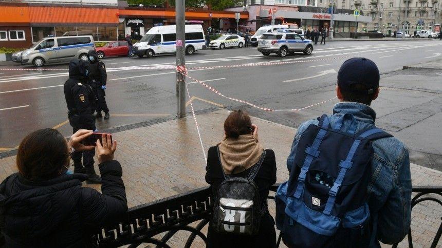 Что рассказывали очевидцы с места захвата заложников в центре Москвы