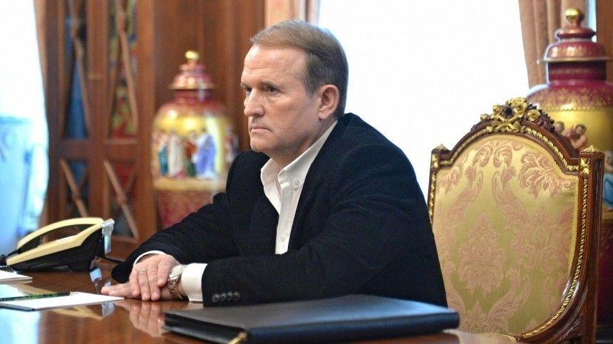 Охранник штаба Медведчука пострадал при атаке радикалов в центре Киева