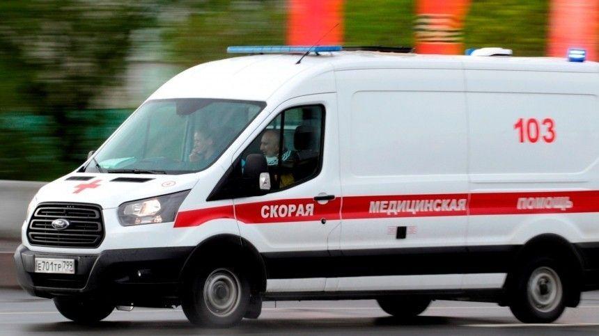 Видео: Водитель BMW сбил ученого в центре Москвы