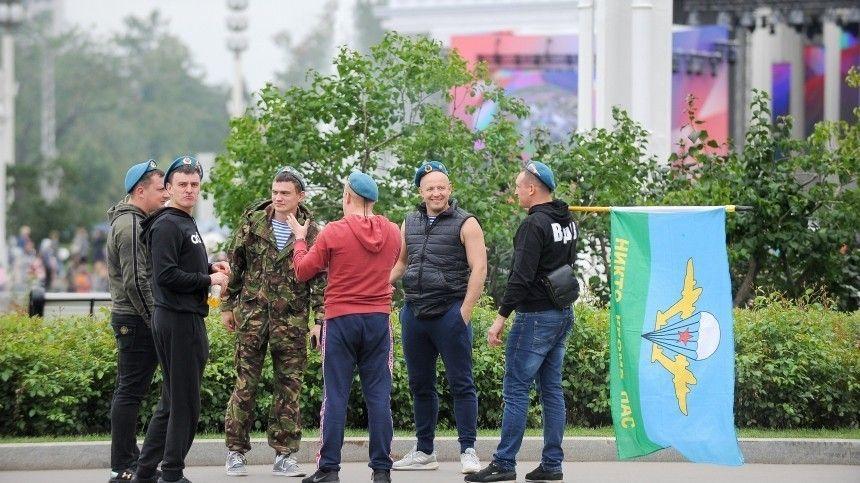 В Росгвардии прокомментировали массовую драку в Москве в День ВДВ
