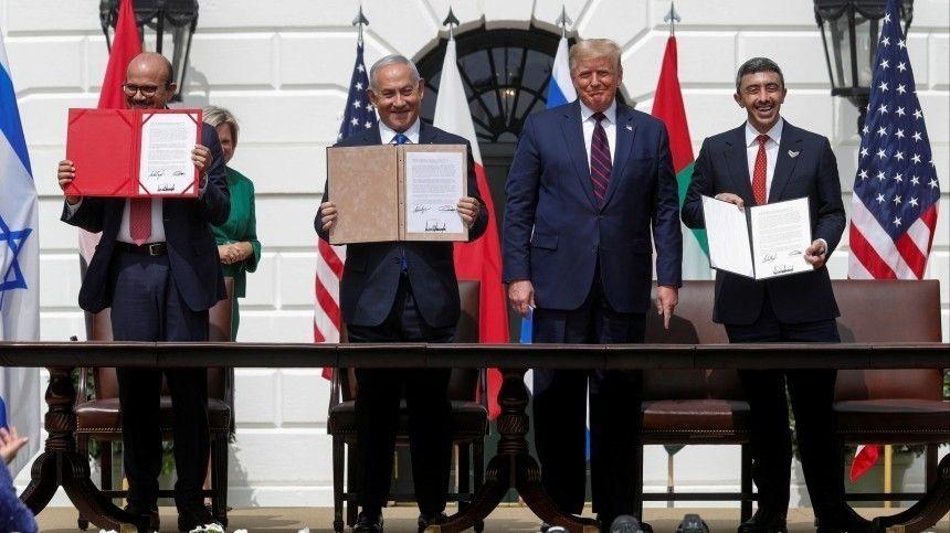 ОАЭ, Израиль и Бахрейн подписали соглашения о нормализации отношений