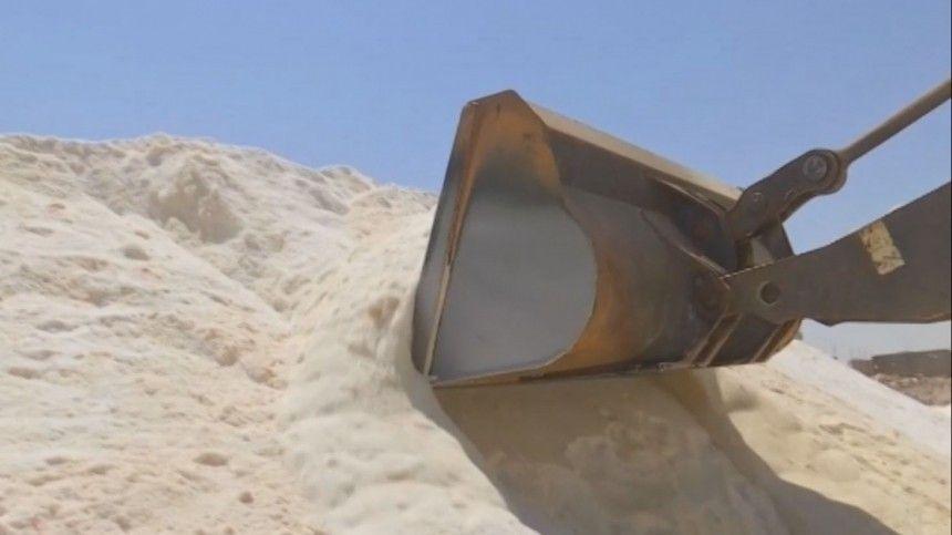 Пуд сирийской соли: в Пальмире восстановили производство стратегического продукта
