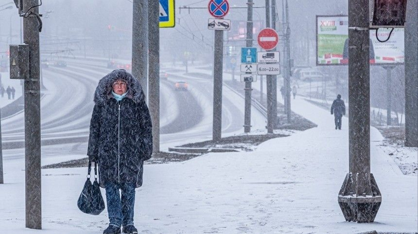 К снегопаду в Петербурге оказались готовы только коммунальщики