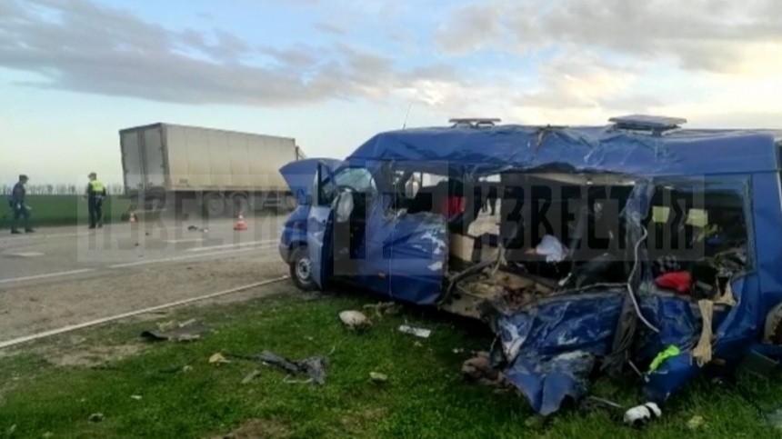 Троих человек задержали после ДТП с пятью погибшими детьми в Ставрополье