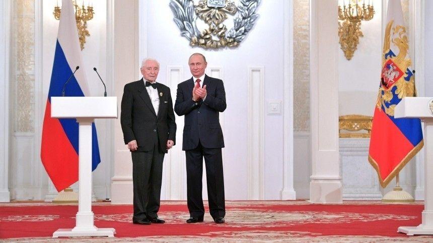 Путин поздравил с днем рождения балетмейстера, открывшего миру Волочкову